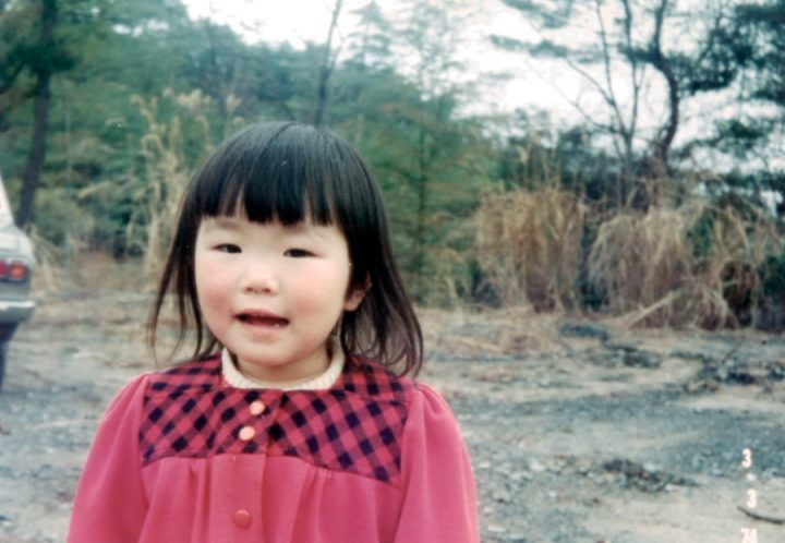 長女由枝 4歳