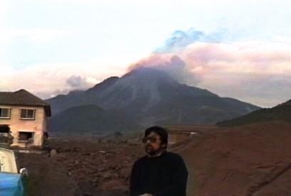 雲仙普賢岳の火砕流の現場に
