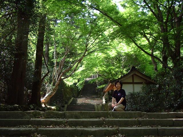 鰐淵寺を散策