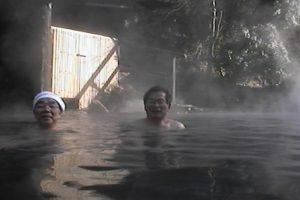 黒川温泉奥の湯の露天風呂