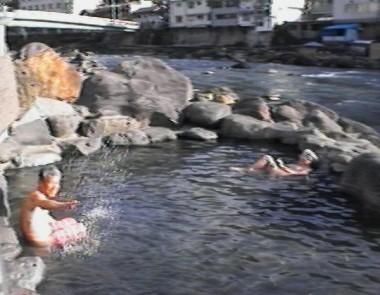 久寿屋さんの管理する露天風呂