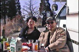 HHM夫妻と昼食です