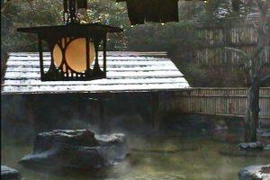 こだま旅館の露天風呂