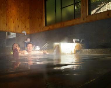 共同湯としては上品なお湯で、落ち着きます