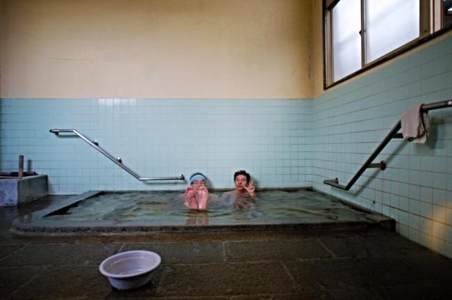別府の共同湯としては、お湯はあまり熱からず・・・普通の人には適温か