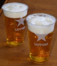 湯上がりの生ビール¥700