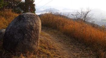 揚倉山 すぐ横に鉄塔があります