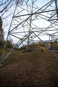 変電所が近いので鉄塔が多い