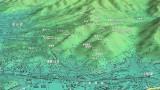 船越の岩田滝山周辺の地図