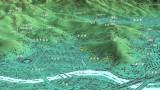 牛田山縦走地図