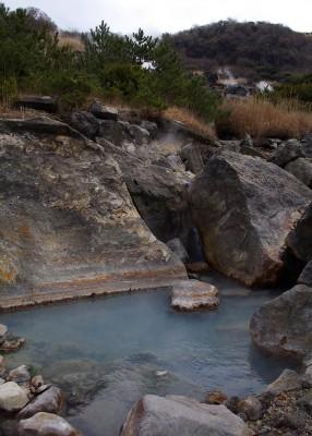 地獄温泉の野湯