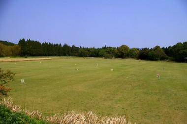 芝のグランドゴルフ場