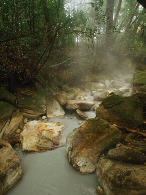 まさしく湯の川