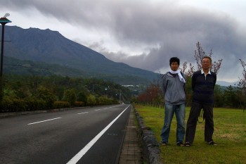 桜島 昭和火口から噴火が始まりました