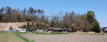 VFK邸と裏山