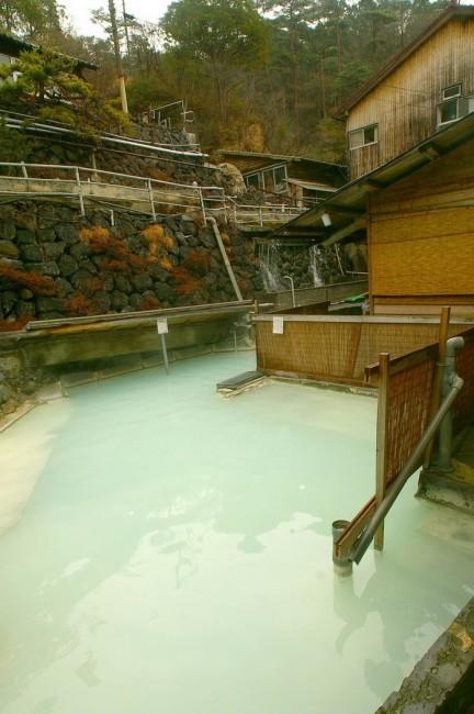 混浴の露天風呂