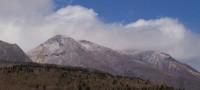 久住山は雪です