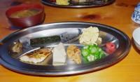 鏡平山荘の朝食