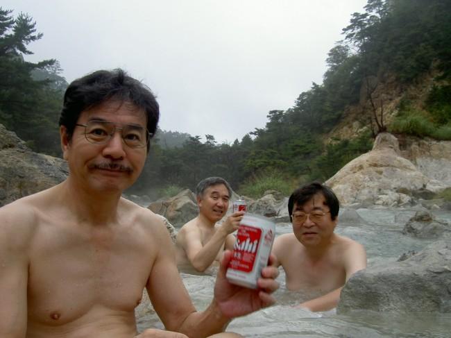 熱いお湯で飲むビールは美味しい