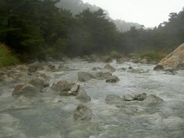 川全体が温泉