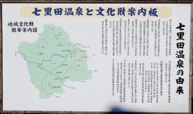 七里田温泉の由来