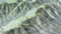 蓮華寺山~高城山マップ