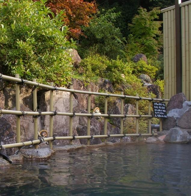 雰囲気の良い露天風呂