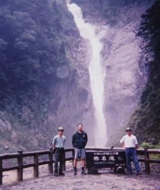 立山の称名の滝にも寄りました