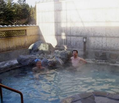 大きくて気持ちの良い露天風呂