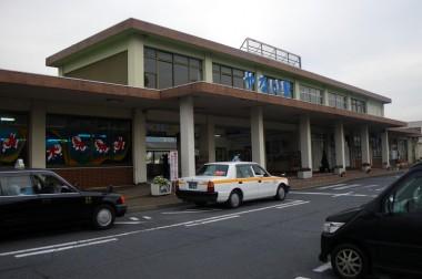 柳井の駅です