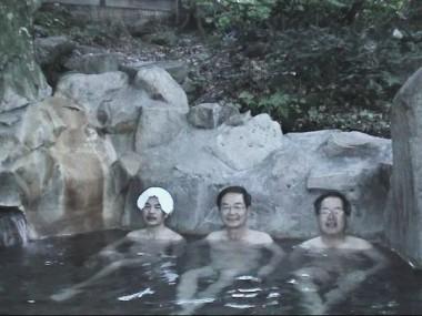 小谷温泉で朝湯です 気持ちがよい