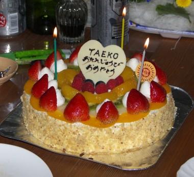 ケーキも美味しかった