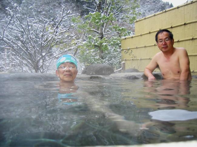 見晴らしが良くいい湯の露天風呂