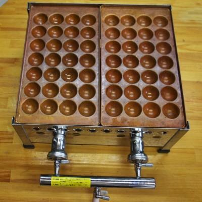 銅製のたこ焼き ほとんど未使用