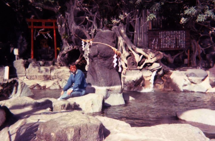 桜島の古里観光ホテル龍神の湯を見学