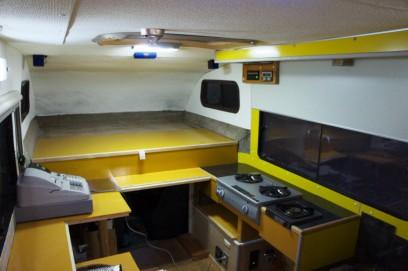 ロデオキャンパーはキッチンカーに