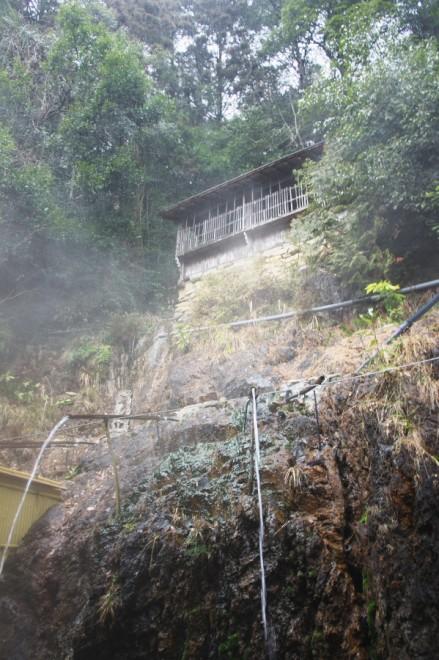 湯の山温泉の打たせ