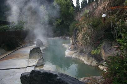 きらく温泉の露天風呂