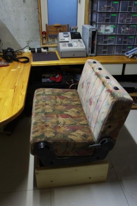 事務所テーブルに新しいシート