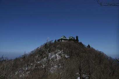 英彦山 中岳を望む