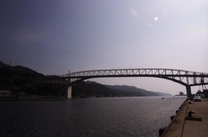 江島大橋 堺港から美保関を結ぶ