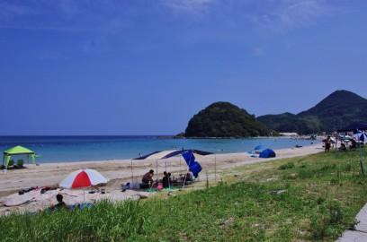 小学生のころ泳いだ北浦海水浴場