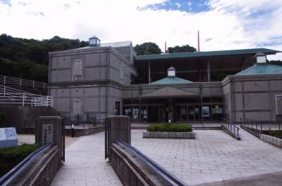 長門の造船歴史館 遣唐使船が復元