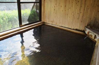 モール泉のような十津川温泉 庵の湯