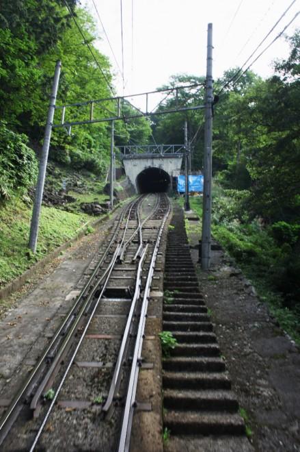 ケーブルカーは10分弱で立山駅に到着