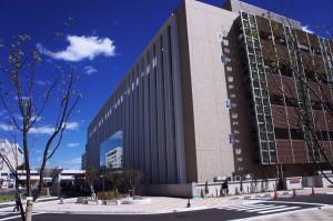 大学病院の診療棟は新築されたばかり