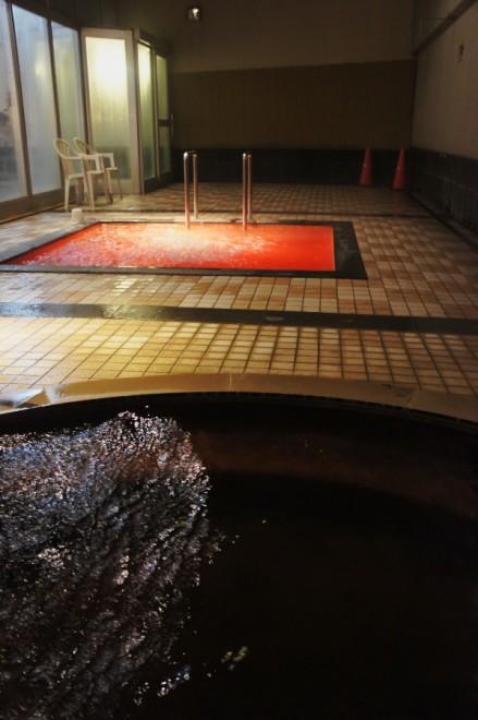 鵡川温泉でまずは温泉を
