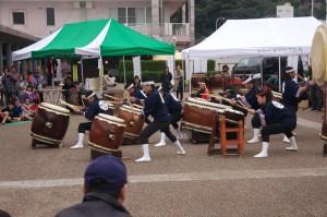 和太鼓の競演です