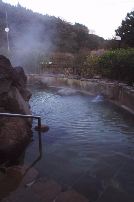 しゃくなげ荘の露天風呂
