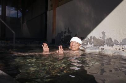 露天風呂でしばしゆったり